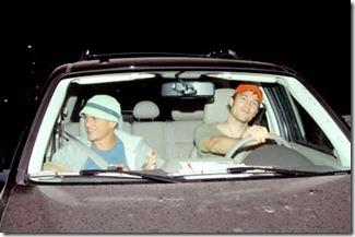 miller & McFarlane in car