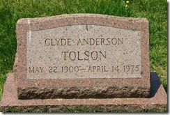 Clyde -Tolson
